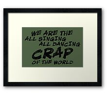 All Dancing Framed Print