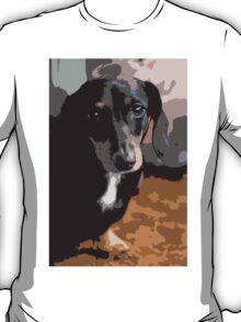 Dachshund Dog Abstract T-Shirt