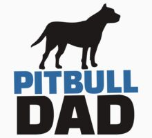 Pit bull Dad by Designzz