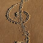 Sand Clef by Lance Jackson