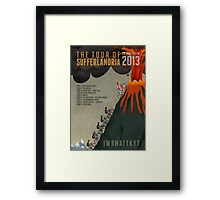 Tour of Sufferlandria 2013 Framed Print