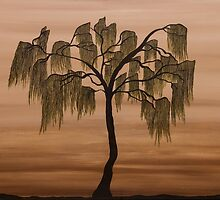Weeping Willow by XENIAHEADLEY