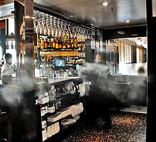Smokey Bar... by Barbara Rahal