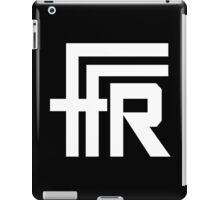 Free Flow Radio Logo (White) iPad Case/Skin