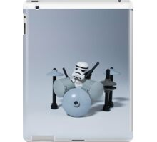 Drumming up a storm iPad Case/Skin