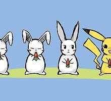 Pika Rabbit by BubbleCrab