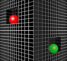 Checkered Wall by NANDANNAG