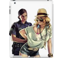 Naughty girl! iPad Case/Skin