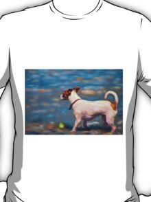 Jack Russell Terrier at the Beach T-Shirt