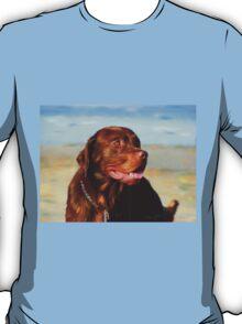 Bosco at the Beach T-Shirt