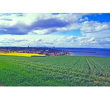 Clouds over St. Andrews by the Sea Photographic Print