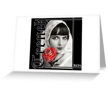 Louise Brooks- Trench Clothing Greeting Card