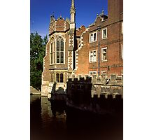 The Old Library, St. John's College, Cambridge Photographic Print