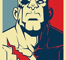 Sagat, Street Fighter by endgameendeavor