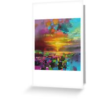 Saturate Greeting Card