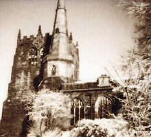 Ormskirk parish church by kenwalters