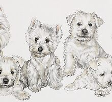 Growing Up West Highland White Terrier by BarbBarcikKeith