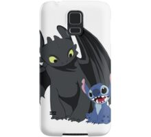 Stitch and Toothless Samsung Galaxy Case/Skin