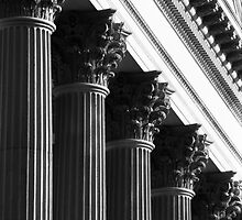 Customs House Columns No. 1 by Benjamin Padgett