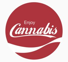 Enjoy Canabis (sticker) by Surpryse