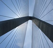 New Cooper River Bridge No. 1 by Benjamin Padgett