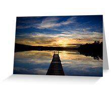 Blackalls Park Sunrise Greeting Card