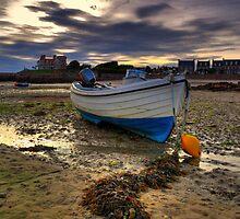 la Hocq Boat by Mark Bowden