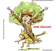 Annie Oakleave The Forest Fights Back Photographic Print