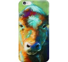 Colourful Calf Painting iPhone Case/Skin