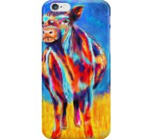 Colourful Angus Abstract Cow iPhone Case/Skin