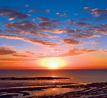 Sunrise at Point Danger, Torquay, Australia by Andy Berry