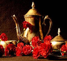 Carnation Kettle by RockyWalley