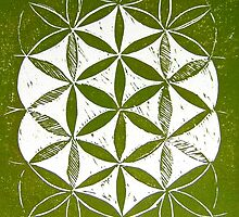 Flower of Life by Gudrun Eckleben