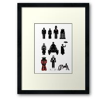 Doctor Who, 12th Doctor - season 8 Framed Print