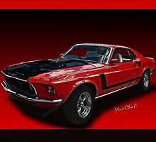 '69 Mustang Mach 1 Street Racer Red Light Runner! by ChasSinklier