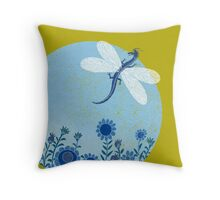 Have you ever seen a dragon fly? Throw Pillow