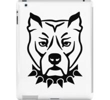 Pit bull head face iPad Case/Skin