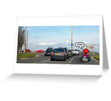 Mario-Kart Traffic Greeting Card