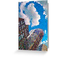 Around the Cloud Greeting Card