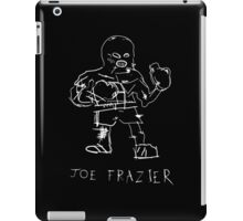 Joe Frazier - basquiat inspired iPad Case/Skin