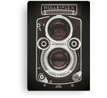 Vintage Camera II Canvas Print