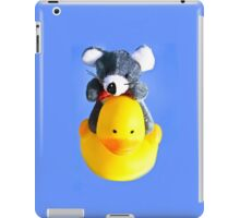 Feathered Friend Ferry - at Your Service iPad Case/Skin