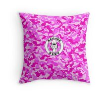 Pink Camo - Mallard Down Throw Pillow