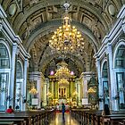 San Agustin Church  by Adrian Evans