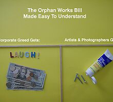 The Orphan Works Bill Made Easy To Understand by Dave Moilanen