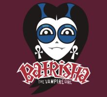 "Batrisha the Vampire Girl, by Dillon Naylor. Design number 1: ""Head"", hosted by Jason Towers"