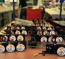 assembly of LED lights in manufacturing by mrivserg