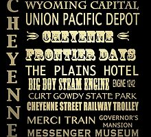 Cheyenne Wyoming Famous Landmarks by Patricia Lintner