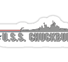 USS Chuckburger Sticker