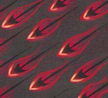 Flame Arrows by Frostwindz